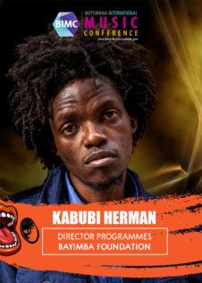 Kabubi Herman - BIMC 2018