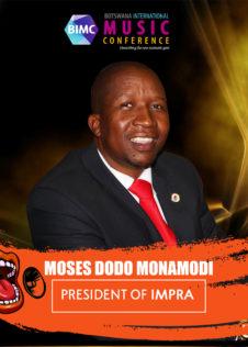 Moses Dodo Monamodi - BIMC 2018