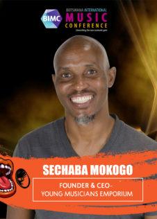 Sechaba Mokoqo - BIMC 2018